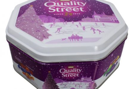 Crown brings festive cheer with tins